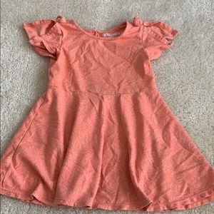 Genuine Kids from OshKosh split shoulder dress